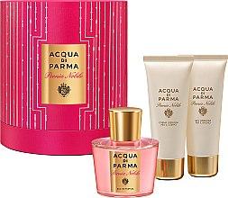 Acqua di Parma Peonia Nobile - Set (edp/100ml + sh/gel/75ml + b/cr/100ml) — Imagine N1