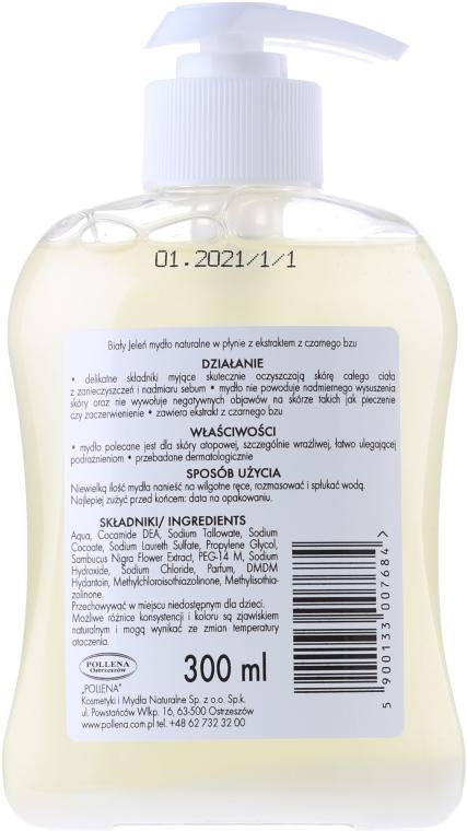 Săpun hipoalergenic cu extract de soc - Bialy Jelen Hypoallergenic Premium Soap Extract From Elderberry — Imagine N3