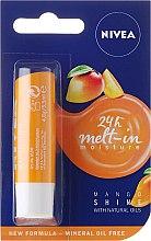 """Parfumuri și produse cosmetice Balsam de buze """"Mango"""" - Nivea Mango Shine Lip Balm"""