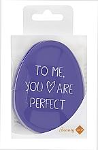 Parfumuri și produse cosmetice Pieptene, mov - Beauty Look Tangle Definer Petite Violet