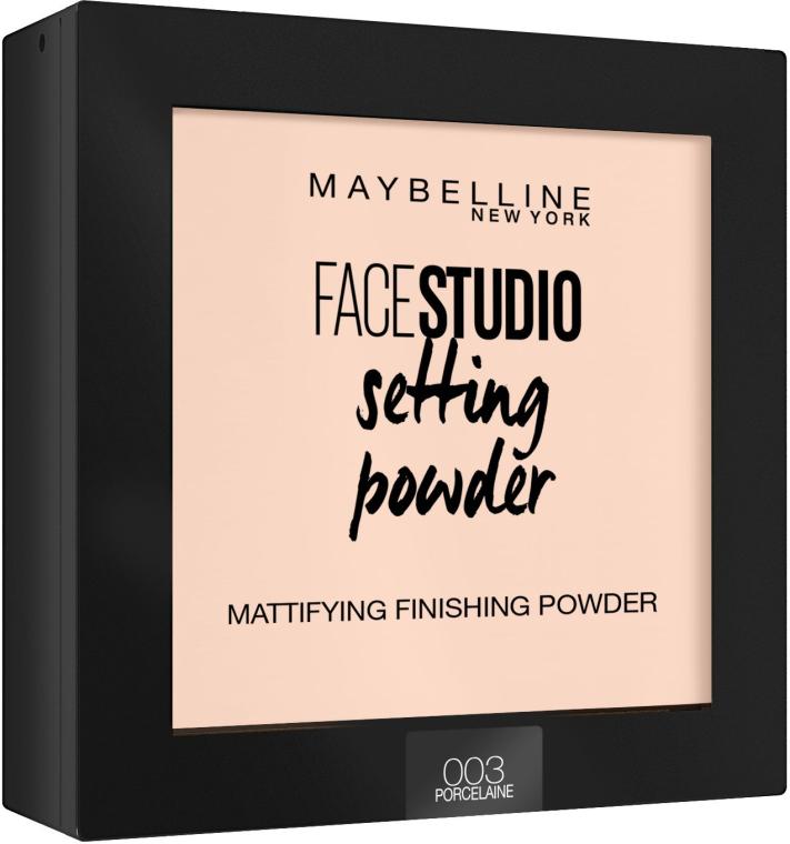 Pudră matifiantă pentru față - Maybelline Facestudio Setting Powder