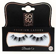 "Parfumuri și produse cosmetice Gene false ""Brooke"" - SoSu by SJ Luxury Lashes"
