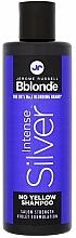 Parfumuri și produse cosmetice Șampon nuanțator pentru păr deschis, gri și decolorat - Jerome Russell Bblonde Intense Silver No Yellow Shampoo