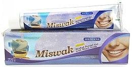 "Parfumuri și produse cosmetice Pastă-gel de dinți ""Miswak"" - Hemani Miswak Herbal Dental Gel"