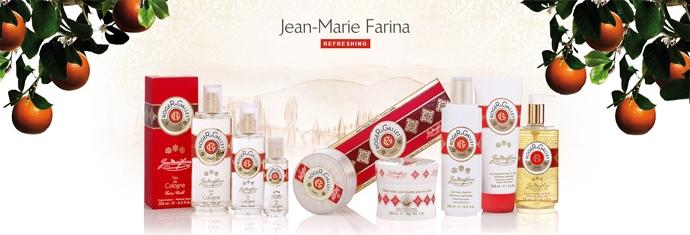"Set trei săpunuri parfumate ""Jean Marie Farina"" - Roger & Gallet Jean Marie Farina Perfumed Soaps (soap/3x100g ) — Imagine N5"