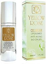 Parfumuri și produse cosmetice Ser facial anti-îmbătrânire - Yellow Rose Cellular Liposomes Anti-Aging Bio-Drops