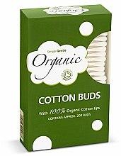 Parfumuri și produse cosmetice Bețișoare de vată - Simply Gentle Organic Cotton Buds