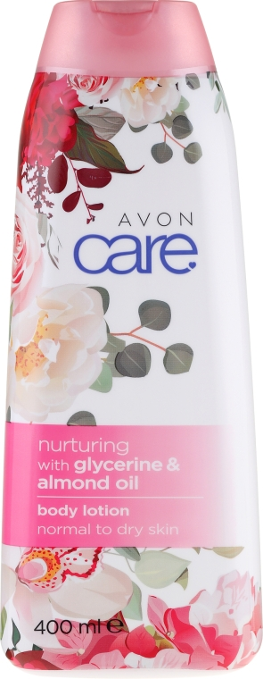Balsam nutritiv pentru corp - Avon Care Nurturing Body Lotion With Glycerine & Almond Oil — Imagine N1