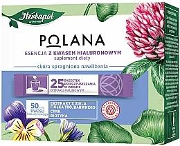 """Parfumuri și produse cosmetice Supliment alimentar """"Esență cu acid hialuronic"""" - Polana"""