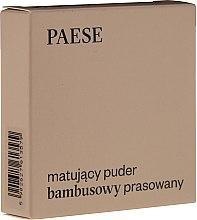 Parfumuri și produse cosmetice Pudră mată de față - Paese Powder Mate
