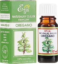 Parfumuri și produse cosmetice Ulei esențial - Etja Natural Origanum Vulgare Leaf Oil
