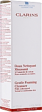 Demachiant - Clarins Gentle Foaming Cleanser with Cottonseed — Imagine N1