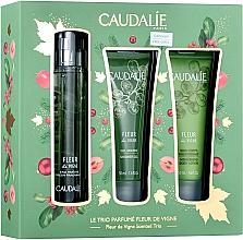 Parfumuri și produse cosmetice Caudalie Fleur De Vigne - Set (edt/50ml + sh/gel/50ml + lotion/50ml)