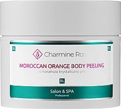 """Parfumuri și produse cosmetice Peeling pentru corp """"Portocal marocan"""" - Charmine Rose Moroccan Orange Body Peeling"""