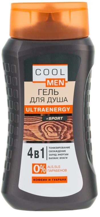 Gel de duș - Cool Men Ultraenergy + Sport — Imagine N1