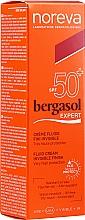 Parfumuri și produse cosmetice Fluid cu protecție solară - Noreva Laboratoires Bergasol Expert IFluid Cream Invisible Finish SPF50+