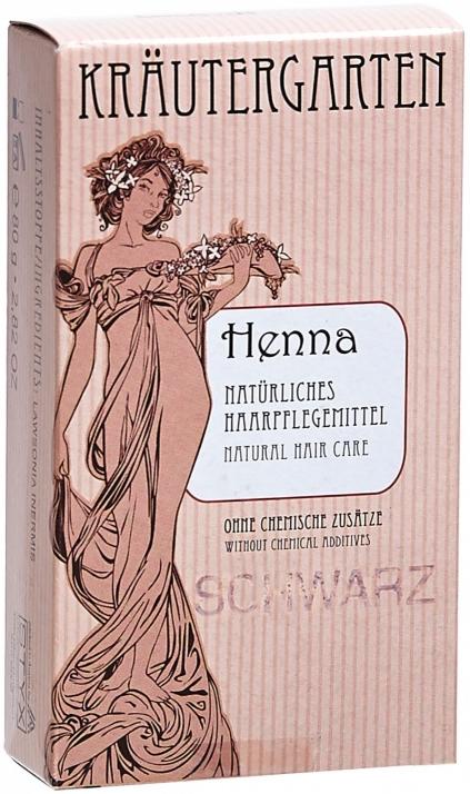 Henna pentru păr, pulbere neagră - Styx Naturcosmetic Henna Schwarz — Imagine N1