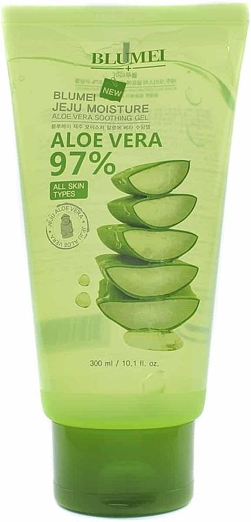Gel universal pentru față și corp - Blumei Jeju Moisture Aloe 97% Soothing Gel