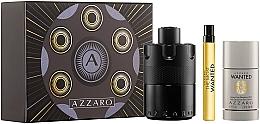 Parfumuri și produse cosmetice Azzaro The Most Wanted - Set (edp/100ml + deo/75ml + edp/10ml)
