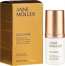 Parfumuri și produse cosmetice Cremă contur ochi si buze - Anne Moller Goldage Eye and Lip Contour Cream