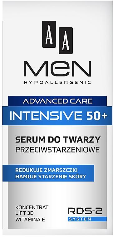Ser pentru față - AA Men Advanced Care Intensive 50+ Face Serum Anti-Ageing