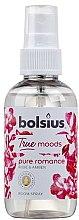 """Parfumuri și produse cosmetice Spray aromatic """"Trandafir și chihlimbar"""" - Bolsius Room Spray True Moods Pure Romance"""