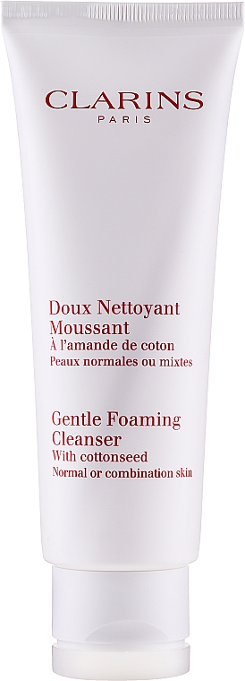 Demachiant - Clarins Gentle Foaming Cleanser with Cottonseed — Imagine N2