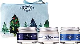 Parfumuri și produse cosmetice Set - Institut Karite Shea (f/cr/50ml + f/lot/50ml + f/mask/50ml + bag)