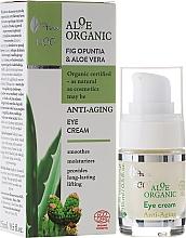 Parfumuri și produse cosmetice Cremă pentru zona ochilor - Ava Laboratorium Aloe Organiic Eye Cream