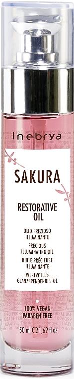 Ulei regenerant de păr - Inebrya Sakura Restorative Oil