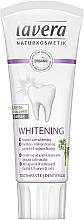 Parfumuri și produse cosmetice Pastă de dinți cu efect de albire - Lavera Whitening Toothpaste