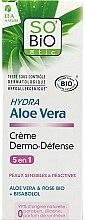"""Parfumuri și produse cosmetice Cremă de față """"Aloe Vera"""" - So'Bio Etic Hydra Aloe Vera Creme"""