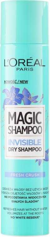 "Șampon uscat ""Explozie de prospețime"" - L'Oreal Paris Magic Shampoo Frash Crush"