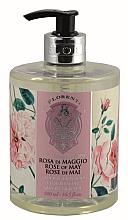 "Parfumuri și produse cosmetice Săpun lichid ""May Rose"" - La Florentina Rose Of May Liquid Soap"