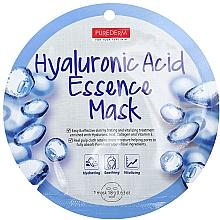 Parfumuri și produse cosmetice Mască de colagen cu acid hialuronic - Purederm Hyaluronic Acid Essence Mask