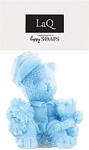 """Parfumuri și produse cosmetice Săpun natural """"Ursuleți"""", albastru - LaQ Happy Soaps"""