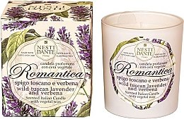 """Parfumuri și produse cosmetice Lumânare aromatică """"Lavandă și Verbenă"""" - Nesti Dante RomanticaTuscan Lavender & Verbena"""