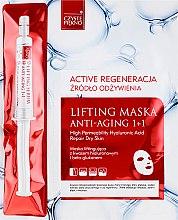 Parfumuri și produse cosmetice Mască de față - Czyste Piekno Active Regeneration + Serum