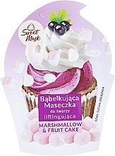 Parfumuri și produse cosmetice Mască-lifting pentru față - Marion Sweet Mask Marshmallow & Fruit Cake