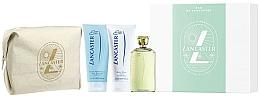 Parfumuri și produse cosmetice Lancaster Eau de Lancaster - Set (edt/125ml + b/lot/200ml + sh/gel/200ml + bag)