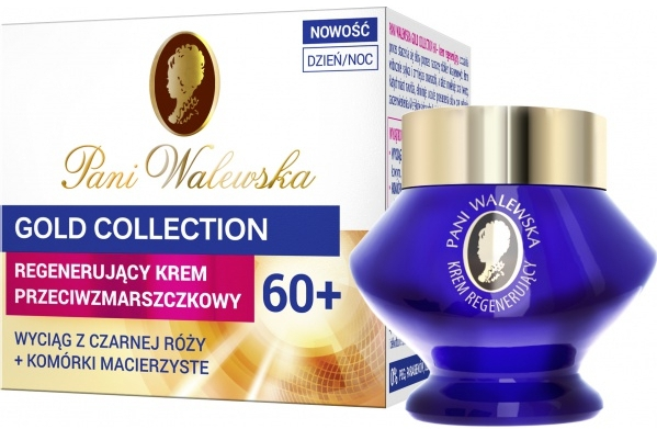 Cremă antirid regenerantă 60+ - Pani Walewska Gold Collection Face Cream 60+