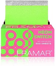 Parfumuri și produse cosmetice Folie de aluminiu  - Framar Pop-Ups Neon Switch