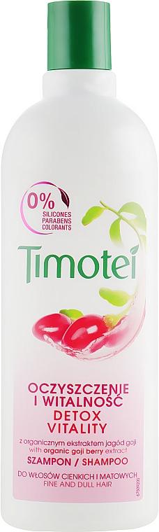 Șampon cu vitamine pentru păr - Timotei Explosion Vitality Shampoo