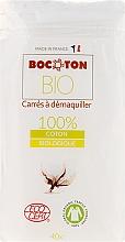 Parfumuri și produse cosmetice Discuri din bumbac, 75x75 mm, 40 bucăți - Bocoton