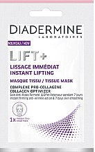 Parfumuri și produse cosmetice Mască de țesut pentru față - Diadermine Lift+ Instant Lifting Tissue Mask