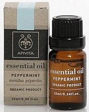 """Parfumuri și produse cosmetice Ulei esențial """"Mentă"""" - Apivita Aromatherapy Organic Peppermint Oil"""