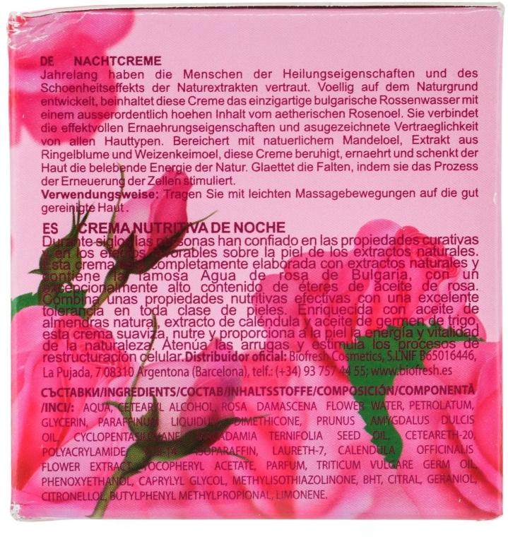 Cremă de noapte pentru față - BioFresh Rose of Bulgaria Rose Night Cream — Imagine N3