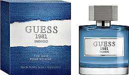 Parfumuri și produse cosmetice Guess 1981 Indigo For Men - Apă de toaletă