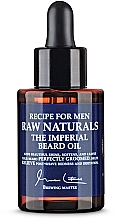 Parfumuri și produse cosmetice Ulei de barbă - Recipe For Men RAW Naturals The Imperial Beard Oil
