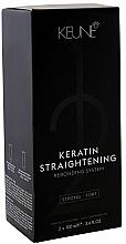 Parfumuri și produse cosmetice Keratină pentru îndreptarea părului - Keune Keratin Straightening Rebonding System Strong
